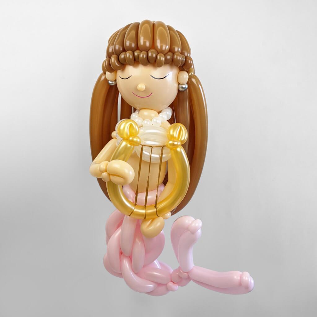 美人魚氣球 Mermaid Balloonart
